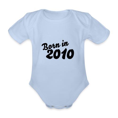 Body dziecięce  - Ekologiczne body niemowlęce z krótkim rękawem