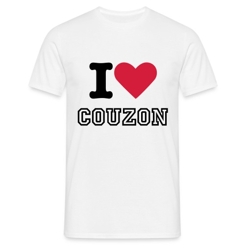 T-shirt I Love Couzon - T-shirt Homme