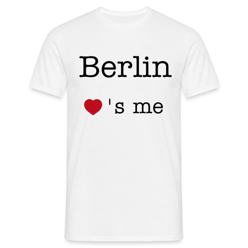 Berlin loves me - Männer T-Shirt