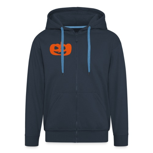 Felpa con zip Premium da uomo