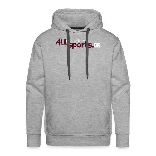 Hoodie ALLmountainSPORTS.de - Männer Premium Hoodie