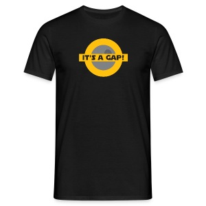 It's a gap! - Männer T-Shirt