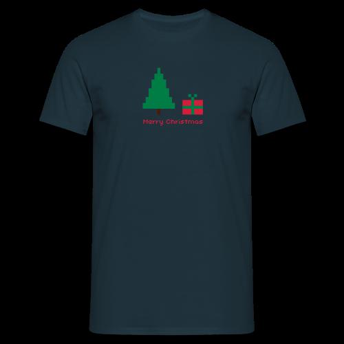 shirt 8 bit - merry christmas - Männer T-Shirt