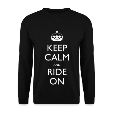 Keep Calm and Ride On Hoodies & Sweatshirts