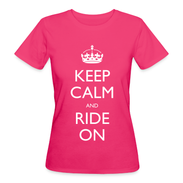 Keep Calm and Ride On T-Shirts