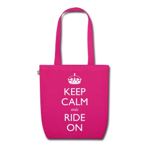 EarthPositive Tote Bag - bike,biker,keep calm,motorbike,motorcycle,ride,rider