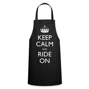Cooking Apron - bike,biker,keep calm,motorbike,motorcycle,ride,rider