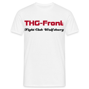 THG-Front Fight Club Wolfsburg - Männer T-Shirt