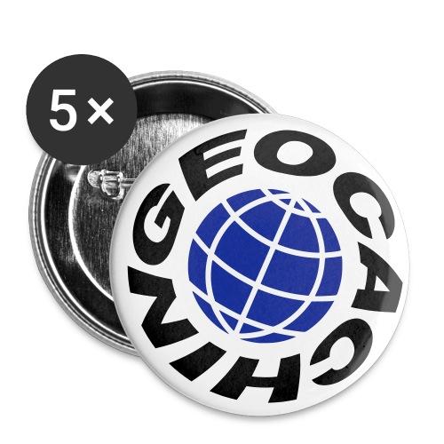 Geocaching - Buttons klein 25 mm