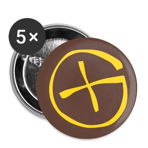 Geocaching - Buttons klein 25 mm