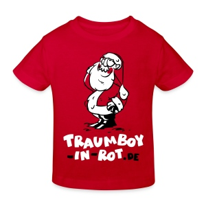 Kinder-T-Shirt Traumboy-in-rot.de - Kinder Bio-T-Shirt