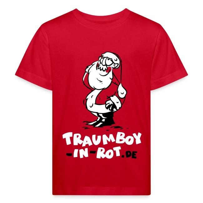 "Kinder-T-Shirt ""Traumboy-in-rot.de"""