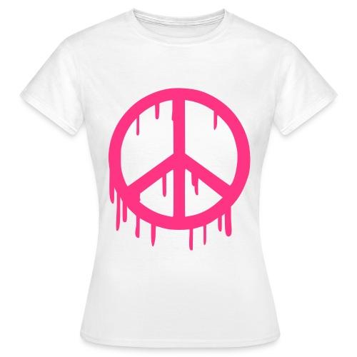 Peace - Camiseta mujer