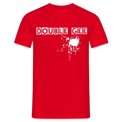 DOUBLE Gee Blood Man - Männer T-Shirt