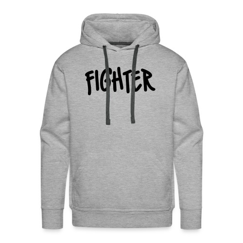 Fighter huppari - Miesten premium-huppari