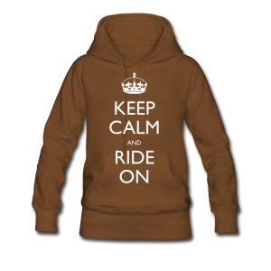 Women's Premium Hoodie - bike,biker,keep calm,motorbike,motorcycle,ride,rider