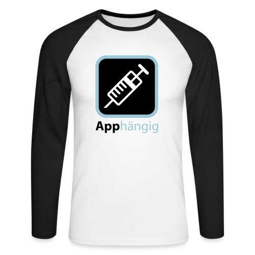 App - Männer Baseballshirt langarm