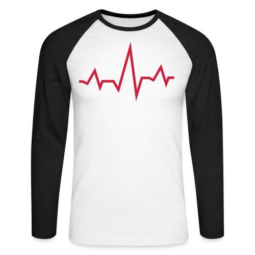 EKG - Männer Baseballshirt langarm