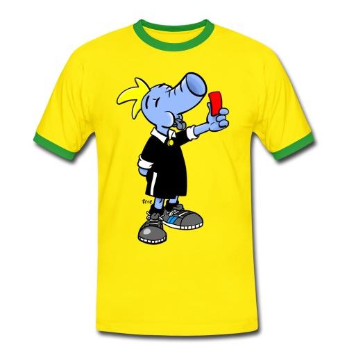 Der Schiedsrichter  - Männer Kontrast-T-Shirt