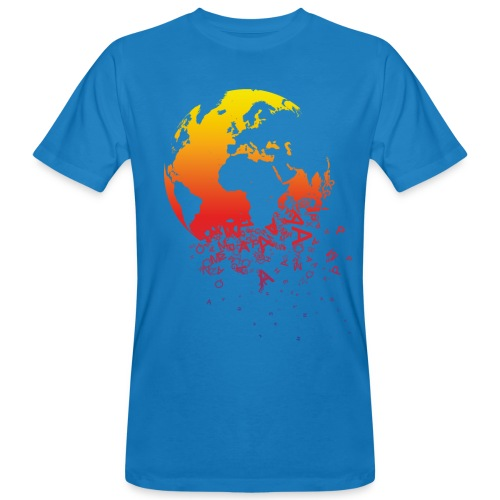 the world - Camiseta ecológica hombre