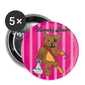 Lovely Bear Button - Buttons klein 25 mm