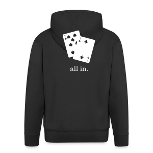 All In Hoodie - Men's Premium Hooded Jacket
