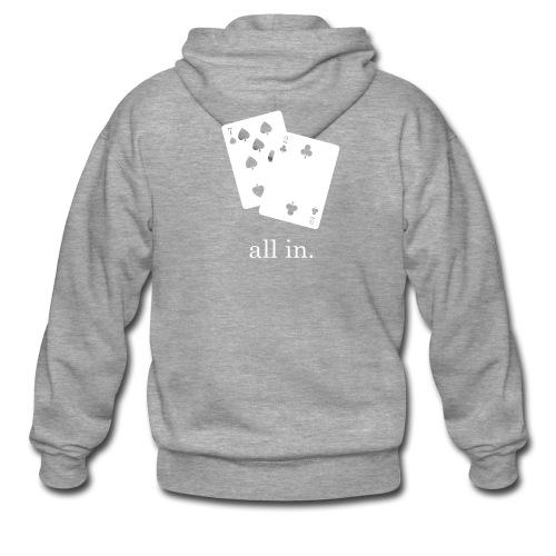 All In Hoodie - Men's Premium Hooded Jacket