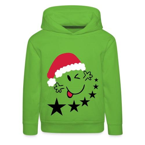 Merry Christmas - Kinderen trui Premium met capuchon