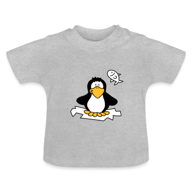 Fat little penguin Baby Shirts