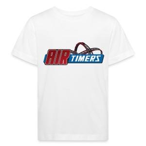Kleinkind T-Shirt mit Kiddy-Coaster Expert Backprint - Kinder Bio-T-Shirt