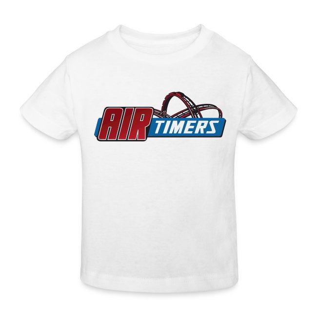 "Kleinkind T-Shirt mit ""Kiddy-Coaster Expert"" Backprint"