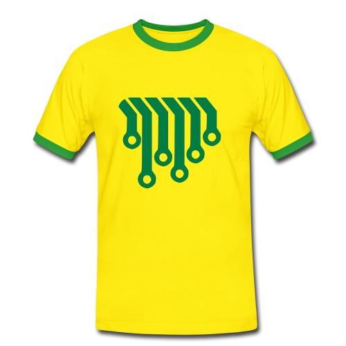 connectors - Boys T-Shirt - Männer Kontrast-T-Shirt