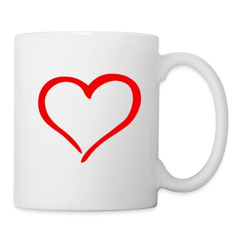 Mug Coeur - Mug blanc
