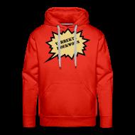 Sweaters ~ Mannen Premium hoodie ~ Verrekte Koukwous - sweater