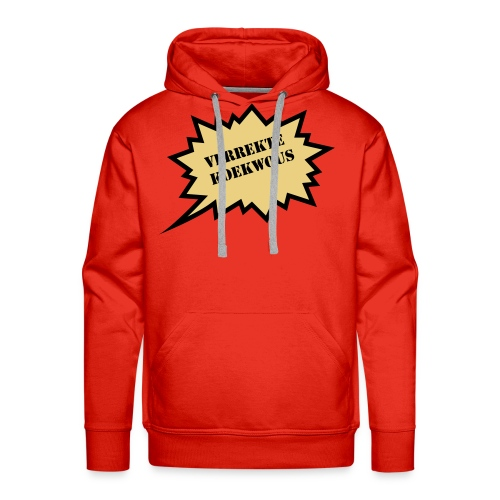 Verrekte Koukwous - sweater - Mannen Premium hoodie