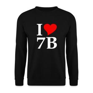 I Love 7B - Siebenbürgen - Transylvania - Erdely - Ardeal - Transilvania - Romania - Rumänien - Männer Pullover