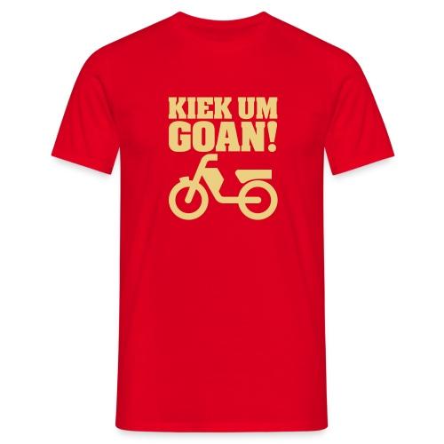 Kiek um Goan! - Mannen T-shirt