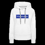 Sweaters ~ Vrouwen Premium hoodie ~ Maaskantje - sweater