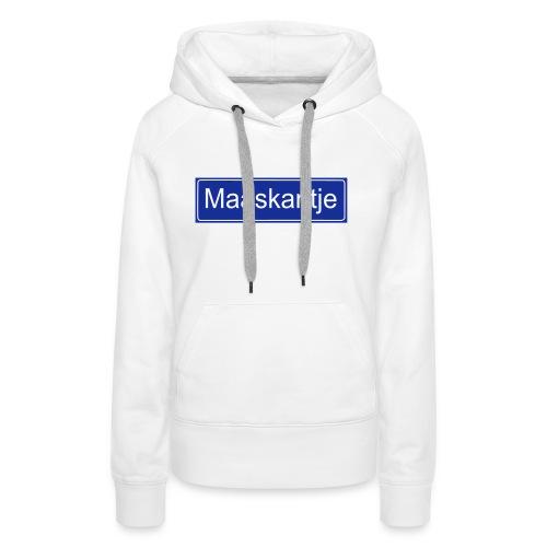 Maaskantje - sweater - Vrouwen Premium hoodie