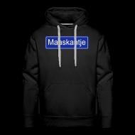 Sweaters ~ Mannen Premium hoodie ~ Maaskantje - sweater