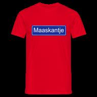T-shirts ~ Mannen T-shirt ~ Maaskantje