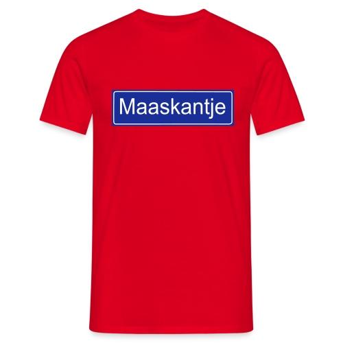 Maaskantje - Mannen T-shirt