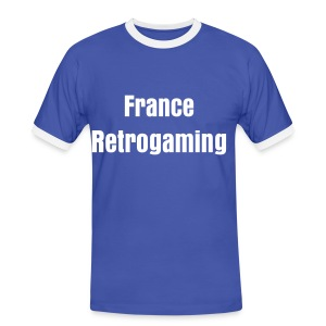 T-Shirt France Retrogaming - T-shirt contrasté Homme