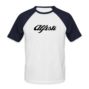 Alfisti Raglan T Navy - Men's Baseball T-Shirt