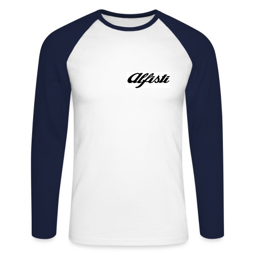 Alfisti Raglan Longsleeve - Men's Long Sleeve Baseball T-Shirt
