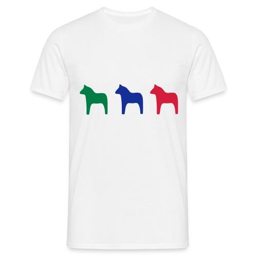 Dala horses - Men's T-Shirt