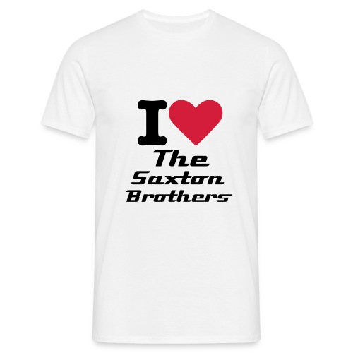 I Love The Saxton Brothers Men's T-Shirt  - Men's T-Shirt