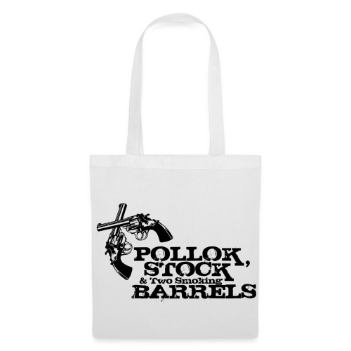 Pollok, Stock & Two Smoking Barrells - Tote Bag