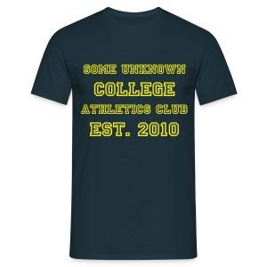 College T-shirt - Men's T-Shirt