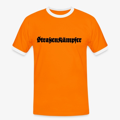 Straßenkämpfer - Männer Kontrast-T-Shirt